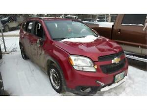 2012 CHEVROLET ORLANDO FOR PARTS CHEAP!