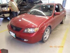 Parting Out a 2002 MAZDA PROTEGE ES