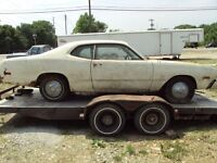 "1973 to 1976 Mopar ""A"" Body for a Donor Car"