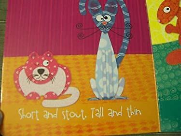 Sleep All Day, Play All Night (An Opposites Book)-ExLibrary (Crayola-board)