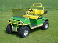 Personalized Golf Carts - North Bay