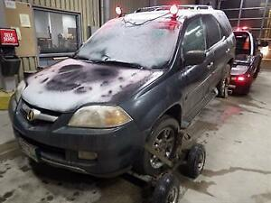Parting Out 2004 Acura MDX Manitoba Preview