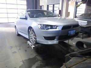 Lancer Parts - Parting Out a 2011 Mitsubishi Lancer Mint Front End Manitoba Preview