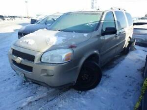Parting Out 2005 CHEVROLET UPLANDER LT EXT