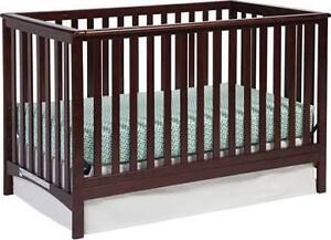 Storkcraft 3-in-1 crib with mattress