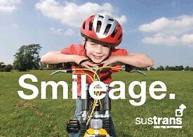Cycle Path Fundraiser - Sustrans - £9.00 p/h part time hours - York
