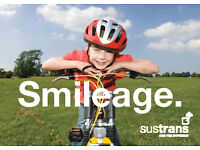Own a bike? Love cycling? Sustrans Cycle Path Fundraiser in London £9/hour Part Time