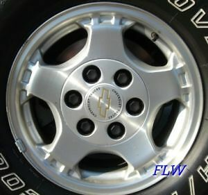 "o.e.m chevy rims 17"" x 8""  alum 6-5 1/2 like new"