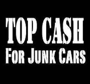 Free Scrap/Junk Car/ Removal ,Canmore,Banff,Exshaw Cash 4 cars!