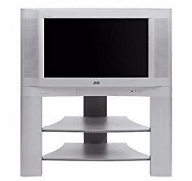 jvc 32 sliver with stand (Jvc Tv built in sub woofer and surround sound rear speakers )