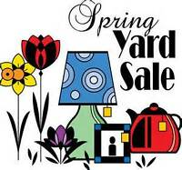 Plants, Baking and Yard Sale on Saturday, May 27