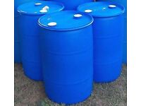 Wanted 205 ltr plastic barrel drum 210/220 Litres 45 50 55 Gallon Bung Type Container