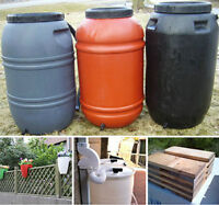 Rain Barrels for your garden for sale in Milton!