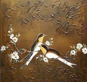 bird painting ebay