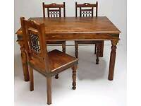 Wanted sheesham dining table