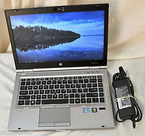 HP EliteBook 8460p,Intel i5,4GB DDR3,250GB HD, 14''LED, Win 10