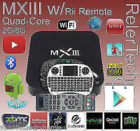 MXIII Bluray 2GB Android Smart TV Box And New Servers Movies