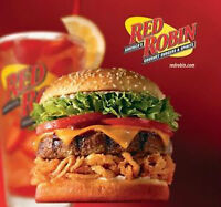 RED ROBIN LONGSTREET IS HIRING FOR ALL POSITIONS!