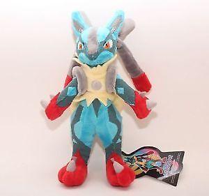 Mega Lucario Pokemon Plush