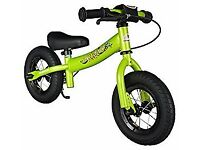 Balance Bike with brakes and with air tires for Kids age 2 year old boys and girls