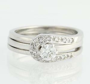 diamond wedding sets - Ebay Wedding Ring Sets