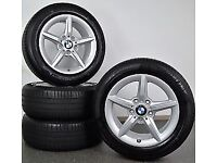 Genuine BMW 1 Series F20/F21 654 Alloy Wheels and tyres