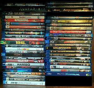 Blu-ray Collection - 46 Movies for $400, or priced individually London Ontario image 1
