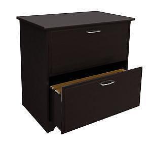 Oak Lateral File Cabinets