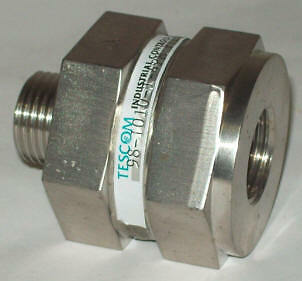 "Tescom 1/2"" 98 Series High Pressure Stainless Steel Inline Filter 98-1010-t-4pm"