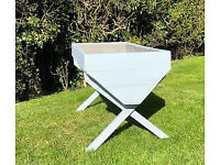 Well-built Garden Manger-style Planter, incl liner with drainage holes
