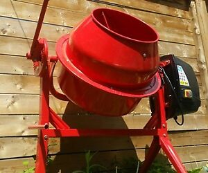 Cement Mixer - never used - already assembled