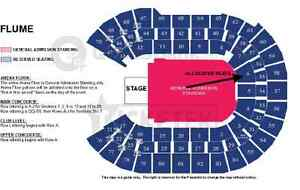 2X FLUME SEATED TICKETS SYDNEY; SECTION 6 ROW B Ingleside Warringah Area Preview
