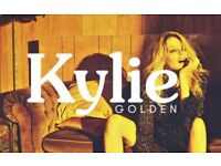 Kylie Golden Tour 2 x seated tickets. First Direct Arena Leeds 4th October
