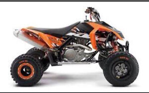 Looking for KTM or Can Am with blown engine