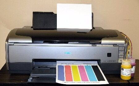 Epson stylus photo r1800 | techradar.