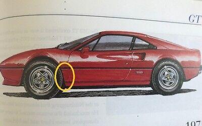 - Ferrari 308 Left  Front Wing Body Panel  - Rear Section