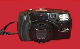 35mm (film) camera, PENTAX zoom 105 super