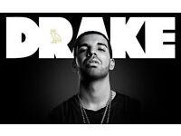 Drake tickets X2