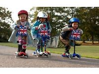 Mini Micro Scooter Limited Edition Union Jack