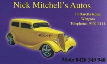 Nick Mitchell's Autos
