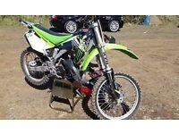2004 Kawasaki KX 125 motocross