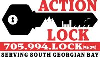 Action Lock - your local locksmith in South Georgian Bay.