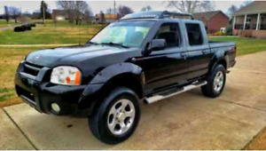 """Nissan 2000 to 04 frontier 17"""" supercharged rims"""