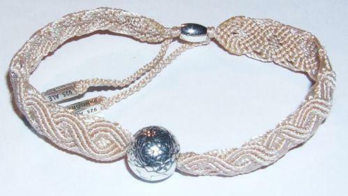 08158b2c0 Pandora Macrame Bracelet | eBay