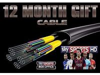 12 Months cable HD