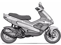 WANTED CHEAP 50 cc MOPED / SCOOTER