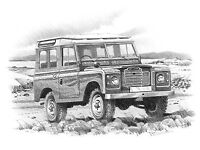 JOB LOT (ONLY) LAND ROVER SERIES PARTS & SPARES, ORIGINAL PARTS INCL WORKING 4 POST LIFT, EBAY SHOP