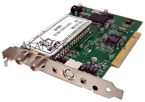 HAUPPAGE WINTV 61381 PCI CARD WATCH TV ON YOUR COMPUTER