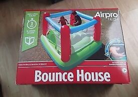 New in box bouncy castle with air pump