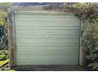 Free concrete sectional garage plus we'll pay you for taking away asap